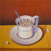 Sale 8492 - Lot 508 - Gregory R Coates - Too Much Coffee 87 x 87cm