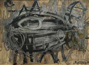 Sale 8504 - Lot 558 - Stanislaus Rapotec (1913 - 1997) - Disturbance, 1960 90 x 120.5cm