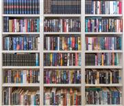 Sale 8550H - Lot 93 - The contents of a large bookcase, mainly fiction