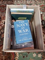 Sale 8822B - Lot 881 - Collection of War Related Books incl Winston Churchill The Second World War Vol I (1950) & Vol II (1951), Churchill Abridged Volum..