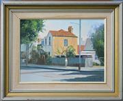 Sale 8807 - Lot 2060 - P.G. Butler (2 works) - Lamon Street, Cooks Hill & Cooks Hill Corner, 1983 36 x 45cm & 30 x 40cm