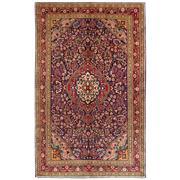 Sale 8810C - Lot 27 - A Persian Fine Vintage Kashan In Handspun Wool, 135 x 230cm