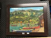 Sale 8865 - Lot 2067 - Artist Unknown - Boating Scene - Oil on Board