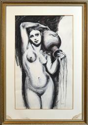 Sale 8301A - Lot 2 - Belinda Wilson (1954 - ) - Venus 118 x 71cm