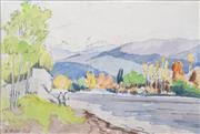 Sale 8427 - Lot 587 - Ebenezer Wake Cook (1843 - 1926) - River Scenes 15 x 23cm