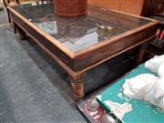 Sale 8700 - Lot 1034 - Large Rustic Coffee Table