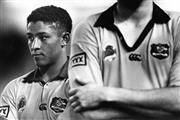 Sale 8754A - Lot 2 - Australia vs Western Samoa Test Match, Sydney Football Stadium, 1994 - Wallabies Player George Gregan 20 x 29cm