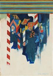 Sale 8867 - Lot 513 - Louis James (1920 - 1996) - Arcade 2, 1968 23 x 16.5 cm