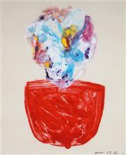 Sale 8958A - Lot 5007 - Charles Blackman (1928 - 2018) - Vase, 1966 48 x 39 cm (frame: 84 x 73 x 6 cm)