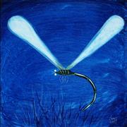 Sale 8959A - Lot 5002 - Kym Hart (1965 - ) - Dragonfly 39 x 39 cm (frame: 58 x 58 x 5 cm)