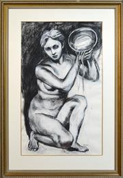 Sale 8301A - Lot 43 - Belinda Wilson (1954 - ) - Aquarius 118 x 71cm