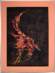 Sale 8394 - Lot 588 - Tadashi Nakayama (1927 - 2014) - Phoenix, 1958 73 x 53cm