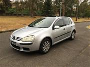 Sale 8421V - Lot 4002 - Volkswagen 2005 Golf Confortline 2.0L FSi                                    Body: 5 Door Hatch...
