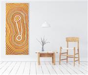Sale 8786 - Lot 527 - Ningie Nangala (c1934 - ) - Tjitana 180 x 80cm (stretched and ready to hang)