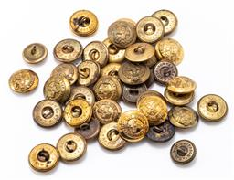Sale 9190E - Lot 24 - A collection of NSW military force buttons