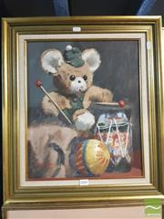 Sale 8449 - Lot 2041 - Heather Macdonald (1934 - ) - The Little Drummer, 1981 44 x 36.5cm