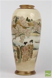 Sale 8516 - Lot 50 - Japanese Satsuma Vase