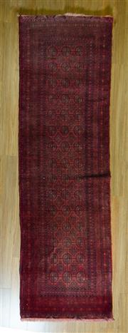 Sale 8693C - Lot 98 - Afghan Qunduzi 280cm x 84cm