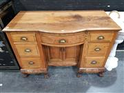 Sale 8745 - Lot 1003 - Pine 7 Drawer Sideboard
