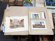Sale 8789 - Lot 2155 - 4 Italian Scene Prints with 3 Toulouse-Lautrec Prints (7)