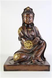 Sale 8877 - Lot 99 - Large Bronze Figure Of Guanyin H: 51cm