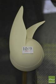 Sale 8287 - Lot 1049 - Alessi Walter Wayle II Wall Clock by Philippe Starck in White
