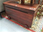 Sale 8637 - Lot 1026 - Timber Lift Top Trunk