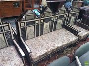 Sale 8648C - Lot 1029 - Mother of Pearl Inlaid Two Seater Sofa