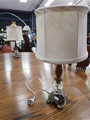 Sale 8676 - Lot 1086 - Ornate Pair of Table Lamps