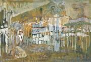 Sale 8704 - Lot 528 - Judy Cassab (1920 - 2015) - North Queensland Scene, 1974 36 x 52cm