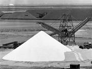 Sale 8721A - Lot 26 - Richard Woldendorp (1927 - ) - Port Headland, 1969 (Salt awaiting shipment from Port Headland) 20 x 25cm