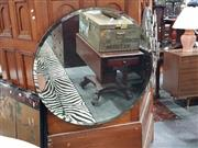 Sale 8745 - Lot 1074 - Round Bevelled Edge Mirror
