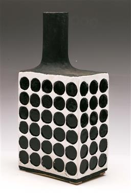 Sale 9131 - Lot 34 - Studio pottery jug - label to base (H:31.5cm)