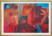 Sale 8286 - Lot 543 - Cynthia Breusch (1959 - ) - Endless Summer, 1992 77 x 115cm