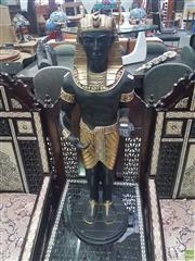 Sale 8648C - Lot 1019 - Egyptian Style Pharaoh Statue