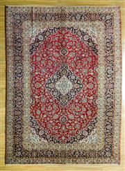 Sale 8680C - Lot 6 - Persian Kashan 339cm x 248cm