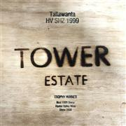 Sale 8804 - Lot 903 - 6x 1999 Tower Estate Tallawanta Vineyard Shiraz, Hunter Valley - in original timber case, winner of Best 1999 Shiraz at HVWS 2000