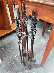 Sale 8834 - Lot 1064 - Metal Fire Tools