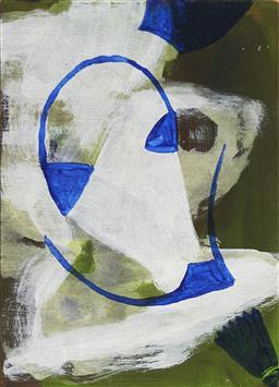Sale 9195 - Lot 602 - KARL-WILHELM (KARL) WIEBKE (1944 - ) - Untitled, 2000 17.5 x 12.5 cm