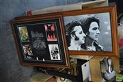 Sale 8518 - Lot 2067 - Beatles Framed Ephemera & Framed Print