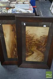 Sale 8537 - Lot 2098 - 3 Framed Elmer Keene Prints