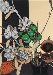 Sale 8821 - Lot 544 - Criss Canning (1947 - ) - Hakea and Other Seed Pods, 2006 89 x 64cm