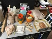 Sale 8819 - Lot 2536 - Collection of Vintage Items incl Tupperware & Rollers