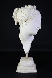 Sale 8905S - Lot 622 - A composite of Venus face. Height 56cm