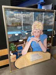 Sale 8927 - Lot 2056 - Artist Unknown - SMH Column painting