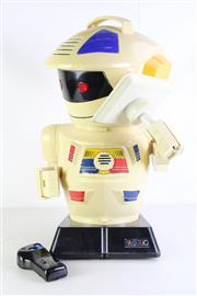 Sale 8980 - Lot 5 - A Large 1980s Emiglio Robot With Remote- GP Toys, (H63cm without the antenna) untested