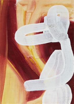 Sale 9195 - Lot 603 - KARL-WILHELM (KARL) WIEBKE (1944 - ) - Untitled, 2001 17.5 x 12.5 cm