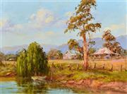 Sale 8323A - Lot 14 - John Hingerty (1930 - ) - My Haven 38 x 50.5cm