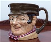 Sale 8515A - Lot 35 - A Royal Doulton toby jug of Sam Weller, H 14cm
