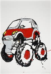 Sale 8565 - Lot 533 - Jasper Knight (1978 - ) - Monster Smart, 2010 150 x 100cm